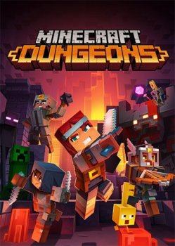 Minecraft Dungeons: Ultimate Edition [v 1.10.1.0.6739574 + DLCs + Multiplayer] (2020) PC | RePack от FitGirl