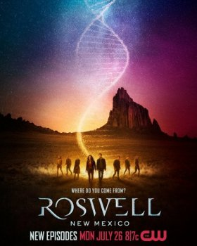 Розуэлл, Нью-Мексико / Roswell, New Mexico [03x01] (2021) WEBRip | TVShows